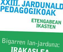 XXIII. Jardunaldiak / Bigarren lan-jarduna